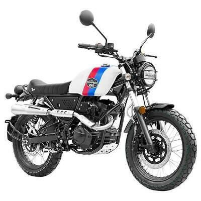 Brand New 2020 Lexmoto Tempest 125 Scrambler, Free £100 helmet included