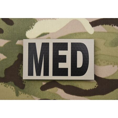 img-Infrared Combat MED Patch USMC Hospital Corpsman USAF US Army Line Medic Doc