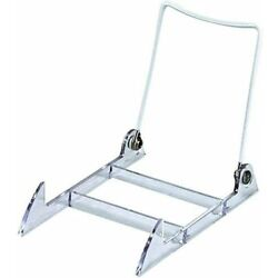 Only Hangers Adjustable Acrylic Wire Display Stands - Adjustable Easels - 12Pk