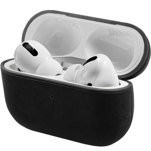Allemagne Cover Black For Apple Airpods Pro (2019) Lade-Behälter Protective Shell
