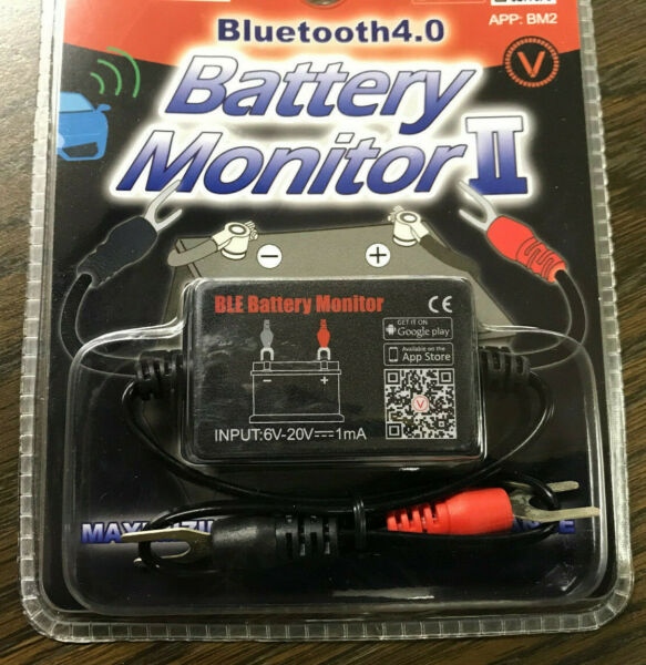 Battery Monitor II Bluetooth 4.0 IOS Andriod Battery Tester  **USA Shipping**