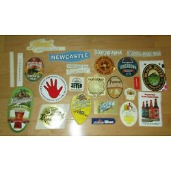 25 BEER STICKER PACK LOT decal craft beer brewing brewery tap handle B7