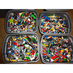 Bulk LEGO by the Pound   BUY 8 GET 4 FREE   Bricks Parts Pieces mixed Huge Lot