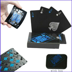 Kyпить Creative Waterproof Plastic PVC Poker Black Table Board Game Card Magic Props на еВаy.соm