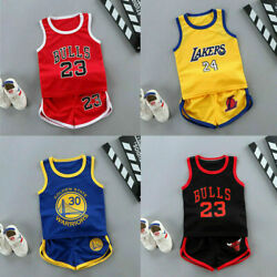 Kyпить Summer Kids Baby Boys Basketball Clothes Child Boy Sports Outfits Clothes Sets на еВаy.соm