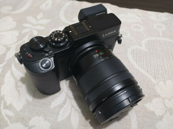 Panasonic Lumix DMC-GX8 Fotocamera Digitale Mirrorless (Kit con 12-60mm)