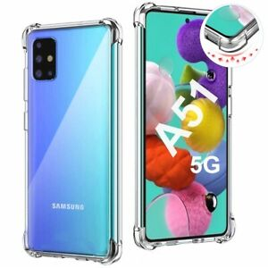 Funda para SAMSUNG GALAXY A51 5G Antichoque Gel Transparente Carcasa Anti-Shock