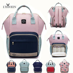Kyпить LEQUEEN Diaper Bag Backpack Large Capacity Travel Maternity Mom Baby Nappy Bags на еВаy.соm