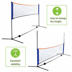 Kyпить Volleyball Tennis Net Set with Stand Frame Carry Bag 10 Feet Portable Badminton  на еВаy.соm