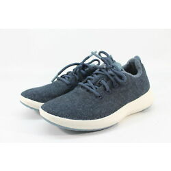 Kyпить Allbirds Men's Wool Runner Mizzles Savanna Night /Cream Sole Shoes NW/OB на еВаy.соm