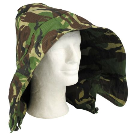 img-British Army DPM Camouflage CS95 95 Pattern Ripstop Button on wired hood Unused