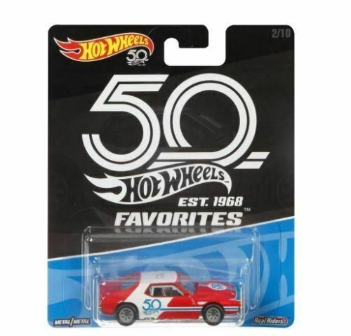 Royaume-UniHot Wheels 1:64 Modèle Moulé 50th Anniversaire - 1971 AMC Javelot - FLF37