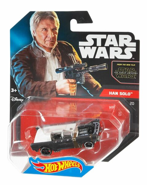 Royaume-UniStar Wars Hot Wheels Modèle - The Force Awakens - Han Solo - Asst. CGW35 DJL58