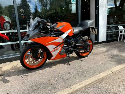 KTM RC 125 17 125CC ORANGE 2017 LOW MILES SPORTS BIKE LEARNER LEGAL