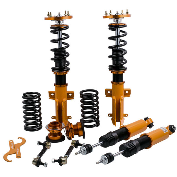 Allemagne4pcs Coilovers Suspension Kit for Ford Mustang 05-14 Adjustable Height & Damper