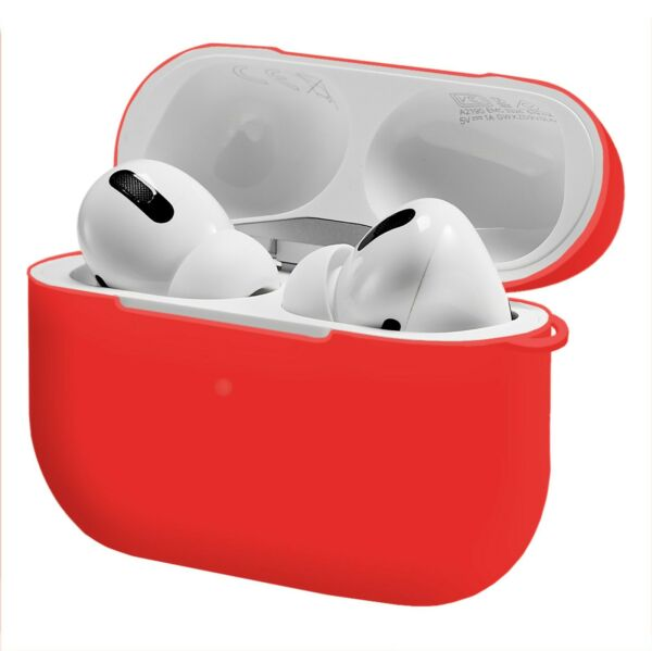 AllemagneCase Matte Red For Apple Airpods Pro Lade-Behälter Protective Shell