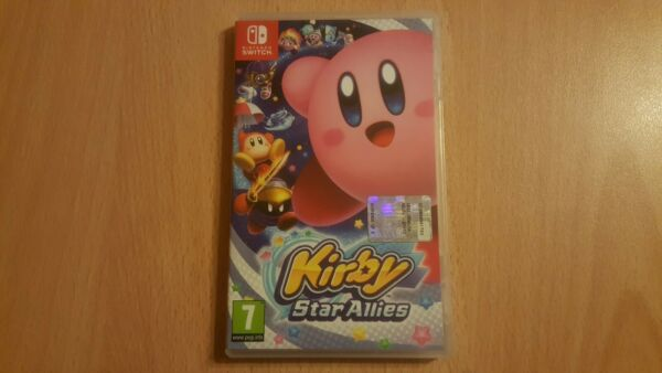 Kirby star allies nintendo switch! Come Nuovo!