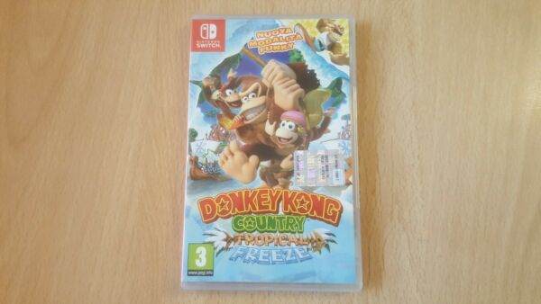 Donkey kong Country Tropical Freeze switch Come Nuovo!