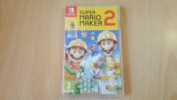 Super mario maker 2 switch Come Nuovo!