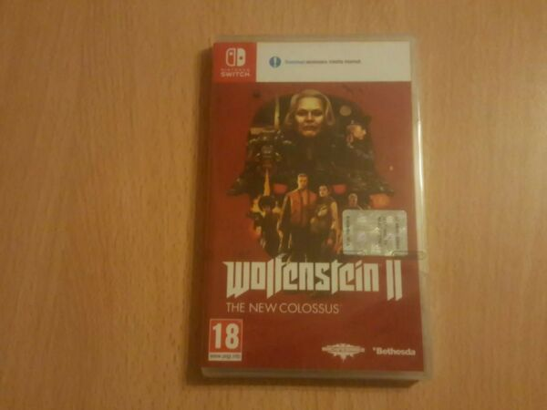 Wolfenstein 2 switch! Nuovo Sigillato Italiano!