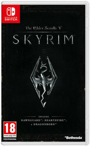 THE ELDER SCROLLS V SKYRIM NINTENDO SWITCH ITALIANO