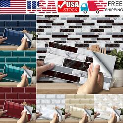 Kyпить Up to 54PCS Self Adhesive Mosaic Tile 3D Sticker Kitchen Bathroom Wall Stickers на еВаy.соm