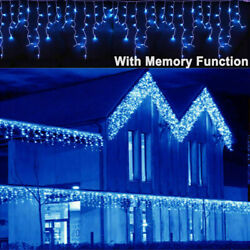 Kyпить 13~130ft Curtain Icicle Lights Wedding Party LED Fairy Christmas Indoor Outdoor на еВаy.соm