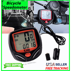 Kyпить Bike Bicycle SPEEDOMETER Cycle Digital Odometer Computer MPH KMH waterproof LCD на еВаy.соm