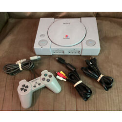 Kyпить Official Sony PlayStation 1 PS1 Console Complete w Controller! ~ Fast Shipping! на еВаy.соm
