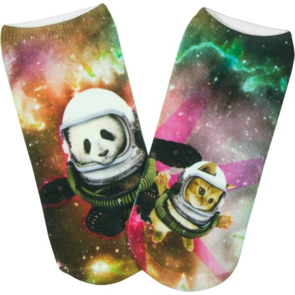 AllemagnePealu - 1 Paire Space Panda Baskets Taille Uniqie 33-40 Polyester