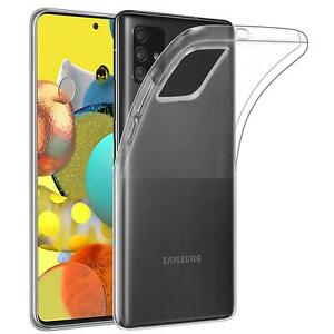 Funda para SAMSUNG GALAXY A51 5G Gel Carcasa Flexible Transparente 100%