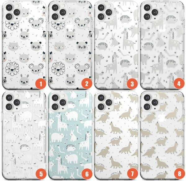Royaume-Uni Cartoon Animal Patterns Slim Phone Case for iPhone    Cute Quirky