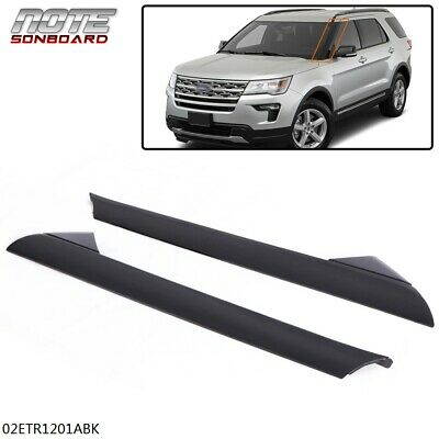 For 2011-2019 Ford Explorer Windshield Outer Trim Molding Left Right Pair Side