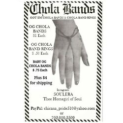 Kyпить OG Chola Bands - Regular Size (Qty. 10) на еВаy.соm