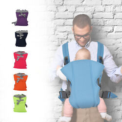 Kyпить Adjustable Baby Carrier Wrap Breathable Sling Newborn Ergonomic Backpack Cotton  на еВаy.соm