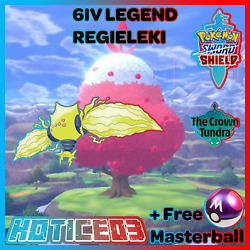 Kyпить Pokemon Sword and Shield 6IV Regieleki Battle Ready + Masterball на еВаy.соm