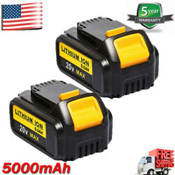 Kyпить 2 Pack For DeWalt DCB205-2 20V 20 Volt Max XR 4.0AH Lithium Ion Battery DCB206-2 на еВаy.соm