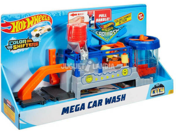 EspagneHot Wheels Super Station de lavage Mattel FTB66