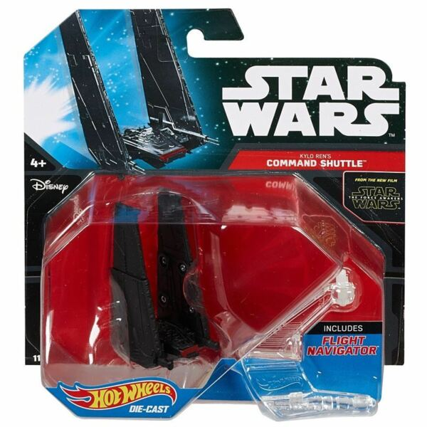Royaume-UniHot Wheels Star Wars The Force Awakens - Kylo Ren's Command Navette