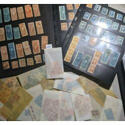 Kyпить US Stamp Collection Back Of Book BoB w/ Revenues Lot of 20 From Huge Hoard Lot на еВаy.соm