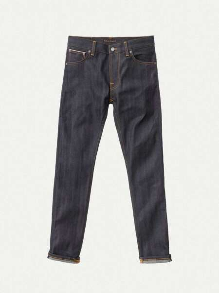 EspagneNudie Jeans Thin Finn Dry Selvage Comfort L34 s