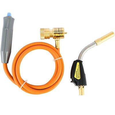 MAPP MAP-pro Propane Self-Igniting Gas Welding Turbo Torch With 5' Hose Max1450℃
