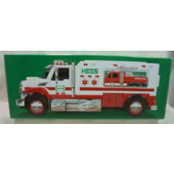 Kyпить 2020 Hess Toy Truck AMBULANCE and RESCUE Brand **NEW IN BOX на еВаy.соm