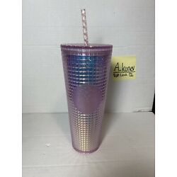 Kyпить Starbucks Pink Grid Disco Holiday 2020 Cold Tumbler Studded IN HAND ! на еВаy.соm