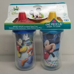 Kyпить The First Years Disney Mickey Mouse Insulated Hard Spout Sippy Cups 9 oz Pk of 2 на еВаy.соm