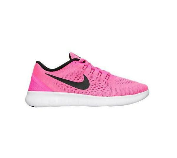 Royaume-UniFemmes Nike Gratuit Rn Rose  Course Baskets 831509 600