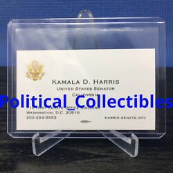Kyпить Kamala Harris Business Card - (FIRST FEMALE VICE PRESIDENT) на еВаy.соm