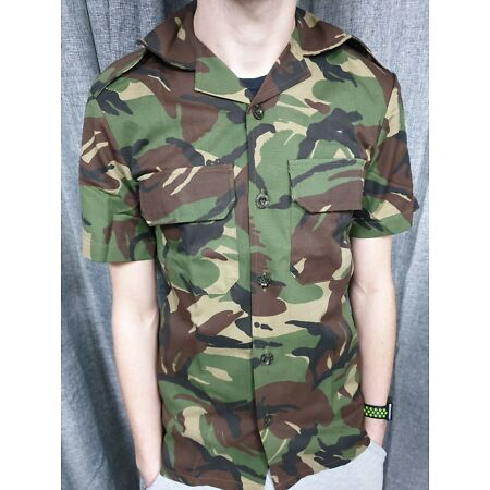 img-Genuine South African Army Military DPM Camo Shirt Military Camouflage Jacket