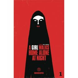 Kyпить A GIRL WALKS HOME ALONE AT NIGHT #1 COVER A DEWEESE BEHEMOTH COMICS NM на еВаy.соm