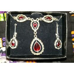 Kyпить costume jewelry necklace w/earrings  на еВаy.соm